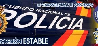 Plazas para oposiciones a Policía Nacional