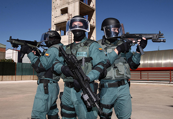 jovenes guardia civil